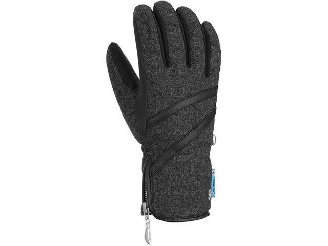 Reusch Lore Stormbloxx Handsker Damer, black melange